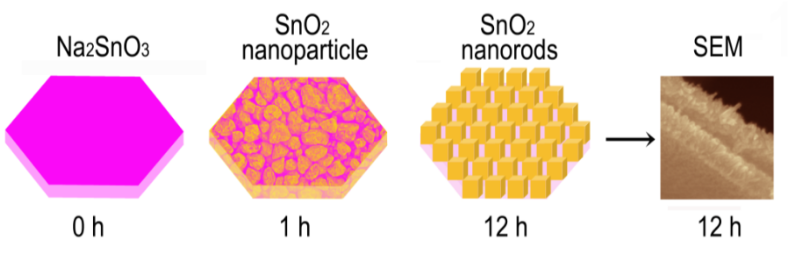 Facile Synthesis of SnO2 Nanorods for Na-Ion Batteries