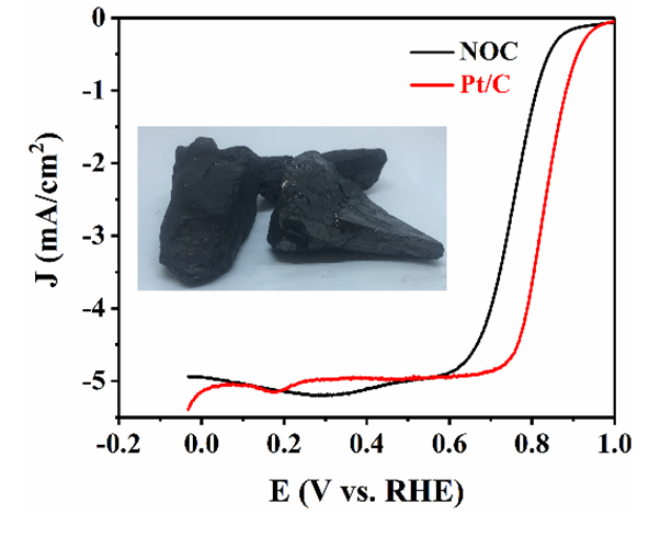 Nitrogen Doped Coal with High Electrocatalytic Activity for Oxygen Reduction Reaction