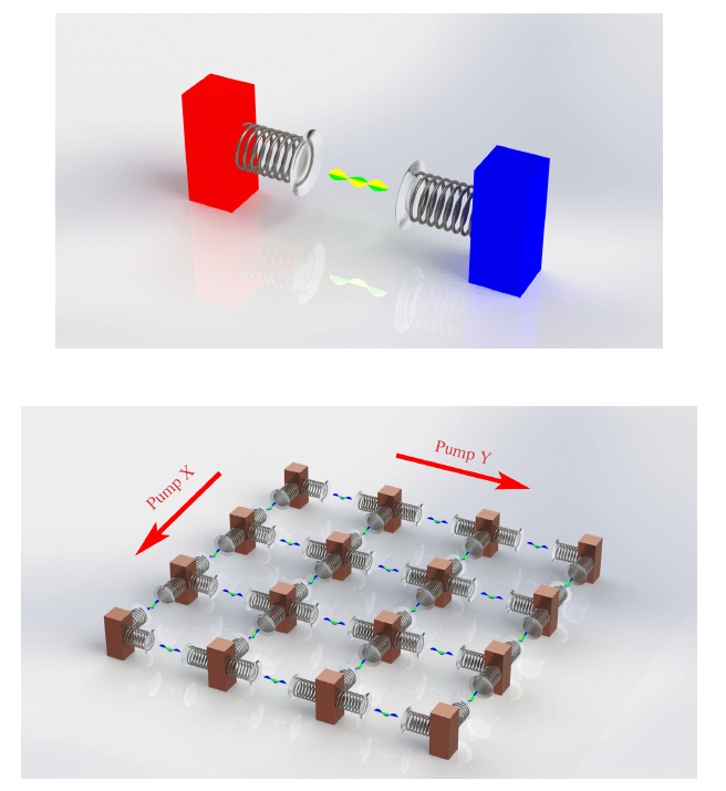 Programmable Thermal Metamaterials Based on Optomechanical Systems