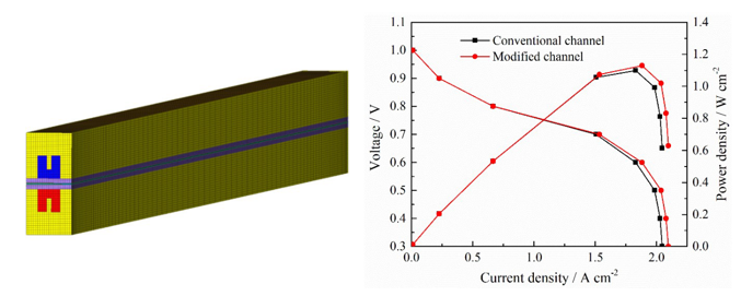 Water Management Simulation of Proton Exchange Membrane Fuel Cells with Micro-ribs Based on Volume of Fluid Model